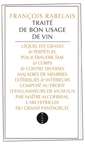 Traité de bon usage de vin